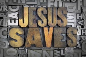 Jesus saves cut