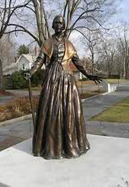 Statue of Sojourner Truth in Florence MA