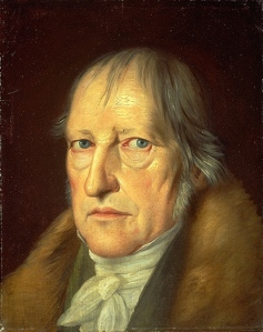 Georg Hegel by Schlesinger