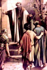 Men arrive from Cornelius Acts101723