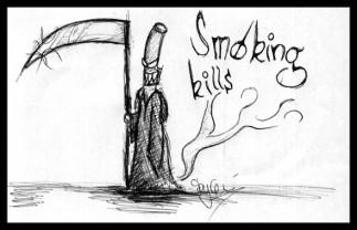 Smoking Kills by Kleinkrust