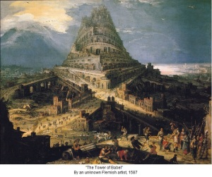 tower of babel unknown flemish artist 1587